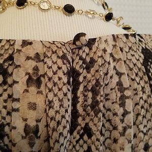 Jessica Simpson Dresses - Jessica Simpson sleeveless dress snake skin print